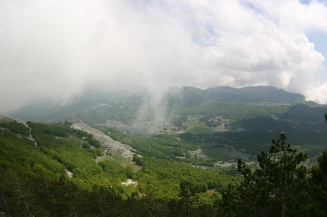 Горная часть Черногории