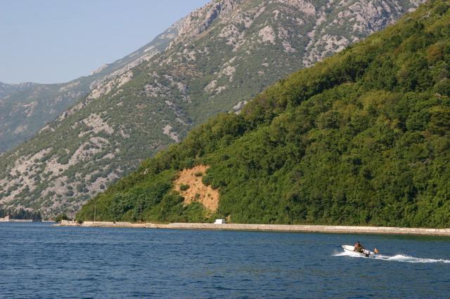 Пляж на Скадарском Озере