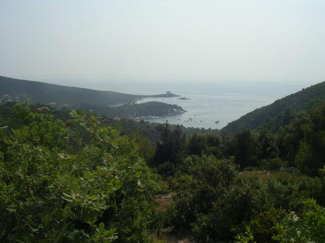 Вид на Боку Которскую со стороны Ловчена
